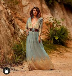 "Ane Granado Urgel on Instagram: ""🔝 Long dresses 💘 🔝 Vestidos largos ... #inspiration #bohosummer #summercool #summerstyle #bohostyle #bohofashionstyle #bohofashionchic…"""