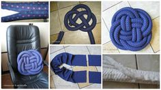 How to make pillow from Chinese knot