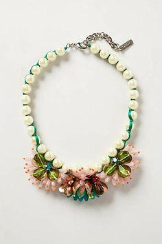 Lily Bib Necklace