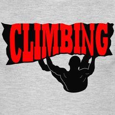 Cooles Kletter Design und tolles Geschenk für Kletterer. Bouldern und klettern auf hohen Niveau mit viel Risiko ohne Seil und Ohne Karabiner steile Berge und Felsen erklimmen. Sport Tennis, Pullover Hoodie, My Favorite Things, Tank Tops, Sports, Women, Design, Bouldering, Climbing