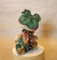 Teddy Frog Lava LuckyCharmsKids by Mara Grishina