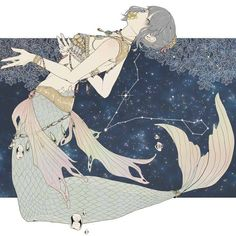 ♓ pisces it's all about ♓ in 2019 별자리, 염소자리 Anime Zodiac, Zodiac Art, 12 Zodiac, Zodiac Signs, Art Anime Fille, Anime Art Girl, Character Concept, Character Design, Concept Art