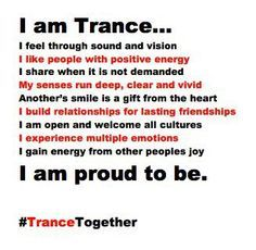 I AM TRANCE! Trance Together #trance #edm
