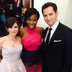 Yael Stone, Uzo Aduba and Matt