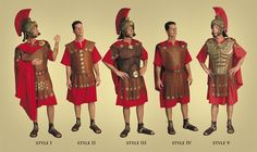 Roman Soldier Armor - Inspiration for Joshua (simulated leather with metal…