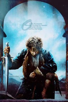 The movie was so great and I died at the end. Cried my eyes out for Fili and Kili and Thorin. I'm just glad Jackson and Tolkien didn't let Bard die, cause I would've hid in a closet for days. Hobbit 3, The Hobbit Movies, Hobbit Hole, Jrr Tolkien, Gandalf, Legolas, Baggins Bilbo, Concerning Hobbits, Desolation Of Smaug