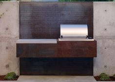 Beautiful minimalist barbeque