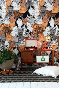 Magical Thinking Catz Tapestry #urbanoutfitters