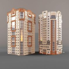 building – free 3D model ready for CG projects. Available formats: Other, OBJ (.obj), 3D Studio Max (.max)
