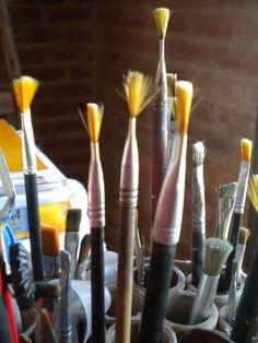 painting , brushes - pinceles pintura