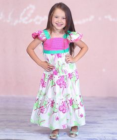 Take a look at the Pink Butterfly Sophie Dress - Infant, Toddler & Girls on #zulily today!