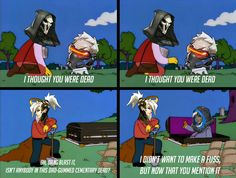 Overwatch, the living dead