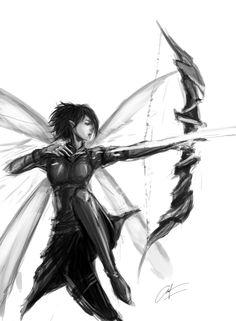 WIP. war elf. #art #drawing #original #character #design
