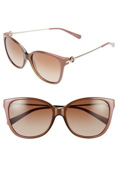 Michael Kors Collection 'Glam' 57mm Retro Sunglasses available at #Nordstrom