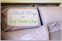 Having trouble sleeping - don't blindly reach for medication - try these natural solutions instead!