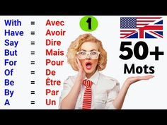 50 mots les plus utilisés en anglais ✪ Part 1 ● 50 Most used words in English ✪ Part 1 French Language Lessons, French Lessons, English Lessons, Study French, Learn French, Learn English, Speak English Fluently, English Vocabulary, French Words