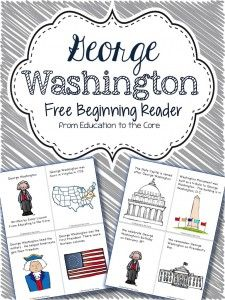 President's Day Pop-Up Books - Education to the Core