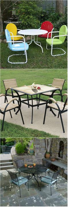 20 Fun and Functional Metal Outdoor Furniture     Designers nowadays are more hooked up with the thought of involving gardens in design – whether they are residential or even commercial buildings. We can see more and more malls that has roof gardens and we see more and more people, especially t...