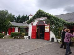 Red Fox Inn on the Ring of Kerry.  Our group encountered a ghost while here - captured on photo.