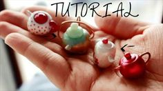 polymer clay tutorial teapot for tea time with fairies