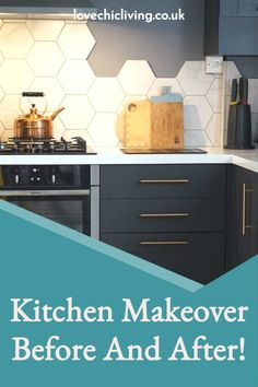 Check out this amazing kitchen makeover before & after for some stylish kitchen makeover ideas. Filled with kitchen makeover inspiration to help you create something brand new in your existing kitchen! See some kitchen design ideas to really inspire you to make simple changes for a whole new look! #lovechicliving Kitchen Extensions, Makeover Before And After, Roof Window, Stylish Kitchen, Cool Kitchens, Make It Simple, Kitchen Design, Kitchen Cabinets, Design Ideas