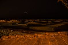 Nachts in den Dünen - Maspalomas Dunes at Night, Gran Canaria