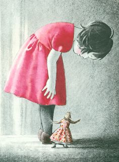 Ilustración de Akiko Miyakoshi para su obra Concierto de piano.