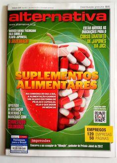 Entrevista sobre suplementos alimentares para a Revista Alternativa do Japão