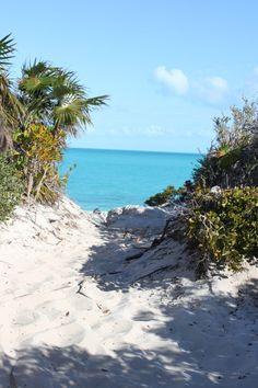 perfect beach path