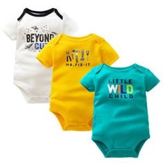 90d154e11 Times  Favourite Baby Boys Girls Summer Clothes 2018 New Fashion Cotton Baby  Bodysuit Short Sleeve Newborn Baby