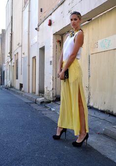 Yellow Mellow #MAXCONNECTORS #NikkiPhillips #Fashion