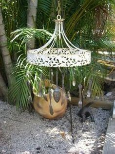 Shabby Chic Windchimes | Upcycled Garden Style | Scoop.it