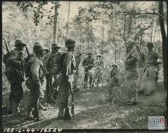 Division Commander Major General Landrum In The Field Talking To Battalion Of Infantry Regiment At Fort Benning On 11 October 1944