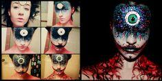 les maquillages effrayants de stephanie fernandez 8   Les maquillages effrayants de Stephanie Fernandez   Stephanie Fernandez photo maquilla...