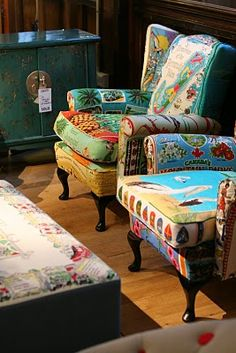 Liberty of London fabrics, I think