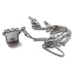 Fab.com | Sad Toast Necklace Small