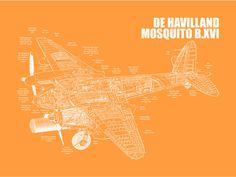 de Havilland Mosquito B.XVI