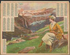 Almanach des Postes 1921