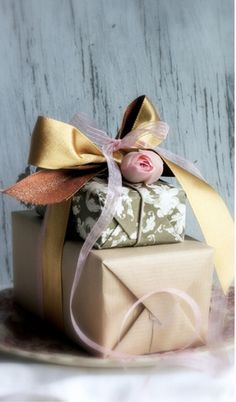Gift Wrapping idea | from tinkerbell