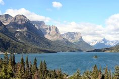 St. Mary's Lake, Glacier NP
