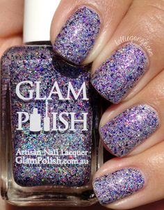 Glam Polish Which Witch? // @kelliegonzoblog