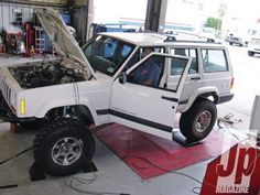 jeep Six Appeal jeep On Dyno Photo 36785595