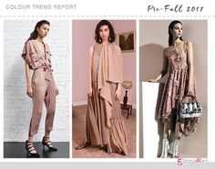 Nudes The 10 Must have colour trends for Pre-Fall 2017 Marissa Webb, Stella McCartney, Fendi