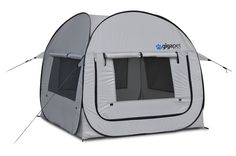 GigaTent Pet PopUp Tent with Fitted Foam Pad (Large) * Find out more details by clicking the image : Dog cages Best Car Seats, Dog Car Seats, Indoor Dog Gates, Insulated Dog House, Dog Tent, Large Dog Crate, Large Dogs, Dog House For Sale, Wire Dog Crates