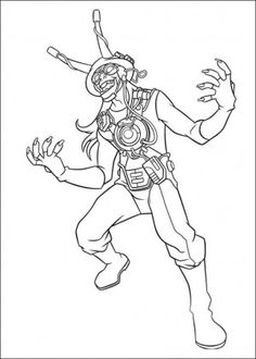 Ben 10 Coloring Page 6