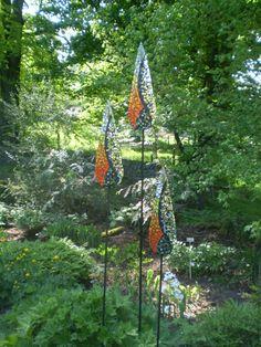 Mosaic Sculptures by Katie Green