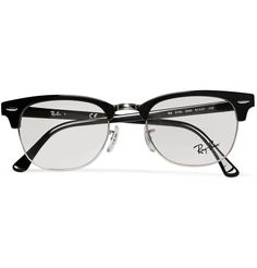 86022df165 Ray-Ban - Clubmaster Acetate And Metal Optical Glasses