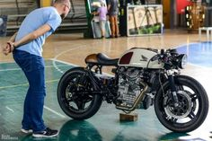 "Honda CX 500 ""cafe au lait"" Gentlemens Racer als Andere in Hollstadt Wargolshausen Cx500 Cafe Racer, Cafe Racers, Scrambler, Cafe Racer Build, Vintage Bikes, Vintage Motorcycles, Custom Motorcycles, Custom Bikes, Cafe Bike"