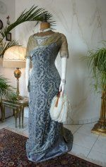 2 antique Ball gown 1909