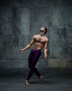 Marcelo Gomes, Principal dancer, American Ballet Theatre. Photographed by NYC Dance Project, Ken Browar and Deborah Ory